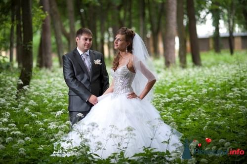 Комментарий: Продаю шикарное свадебное платье,оно просто произвело фурор на моей свадьбе!Корсет полностью рассшит стразами