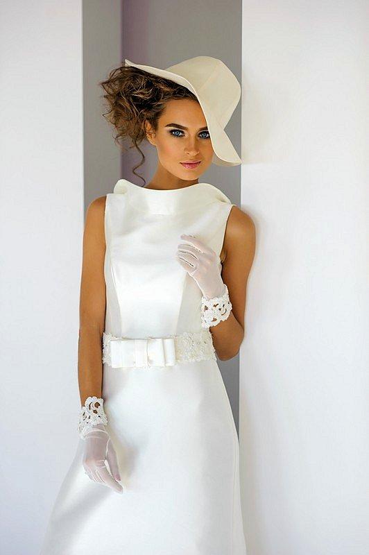 для невысоких 2015, свадебное платье для