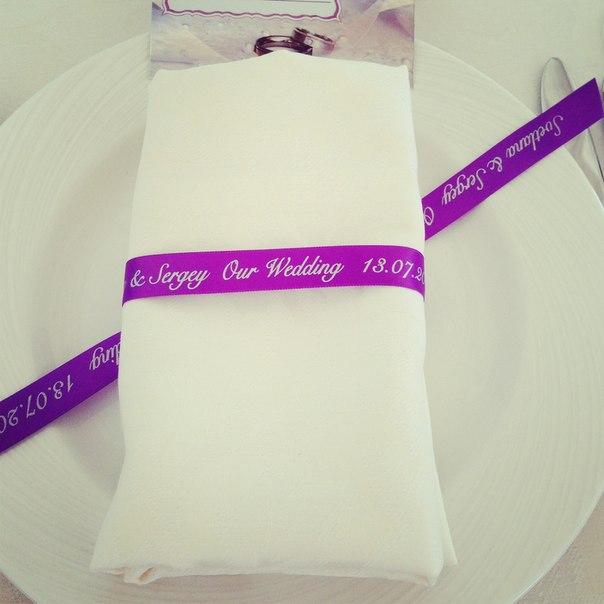 Салфеток на свадьбу фото