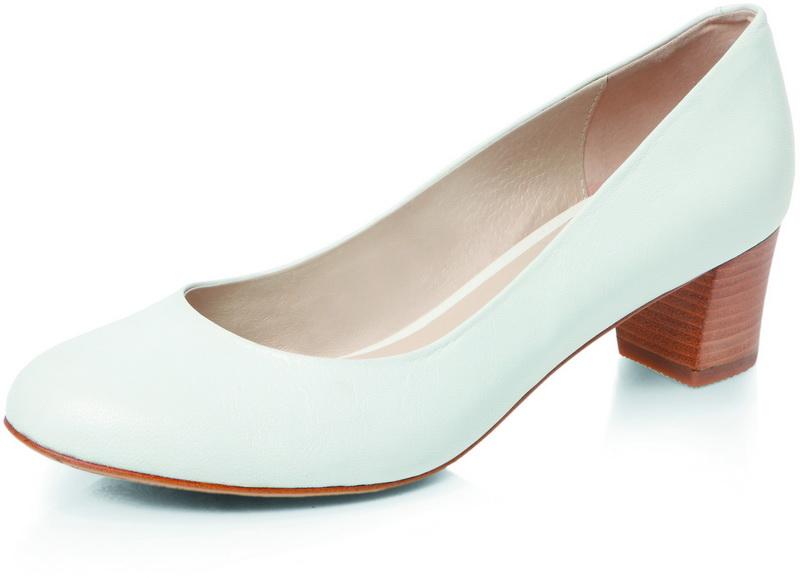 Туфли на низком каблуке, цены
