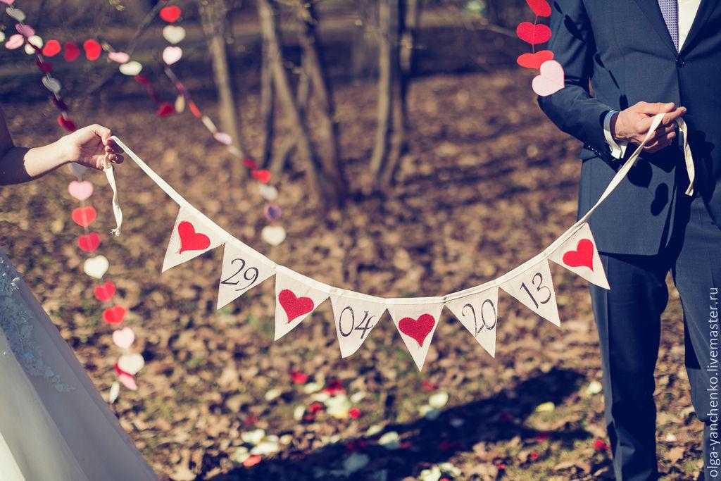 Дата на свадьбу своими руками 66
