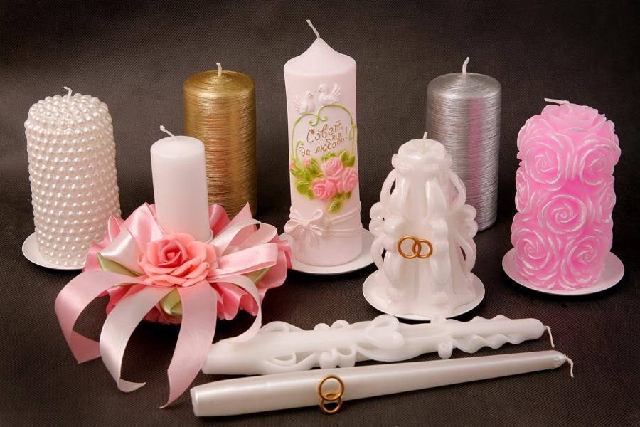Свеча для свадьбы своими руками фото
