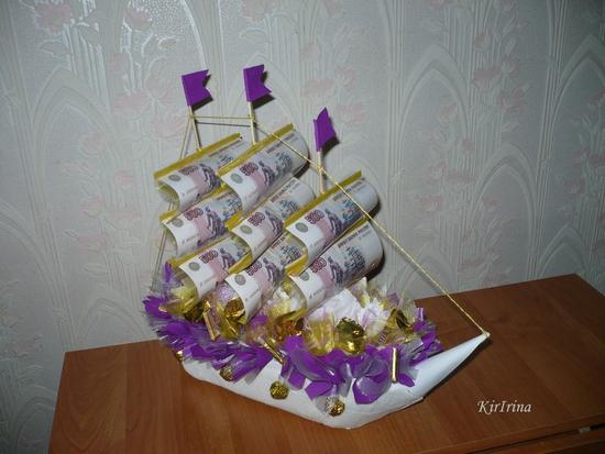 Поделка кораблик своими руками фото