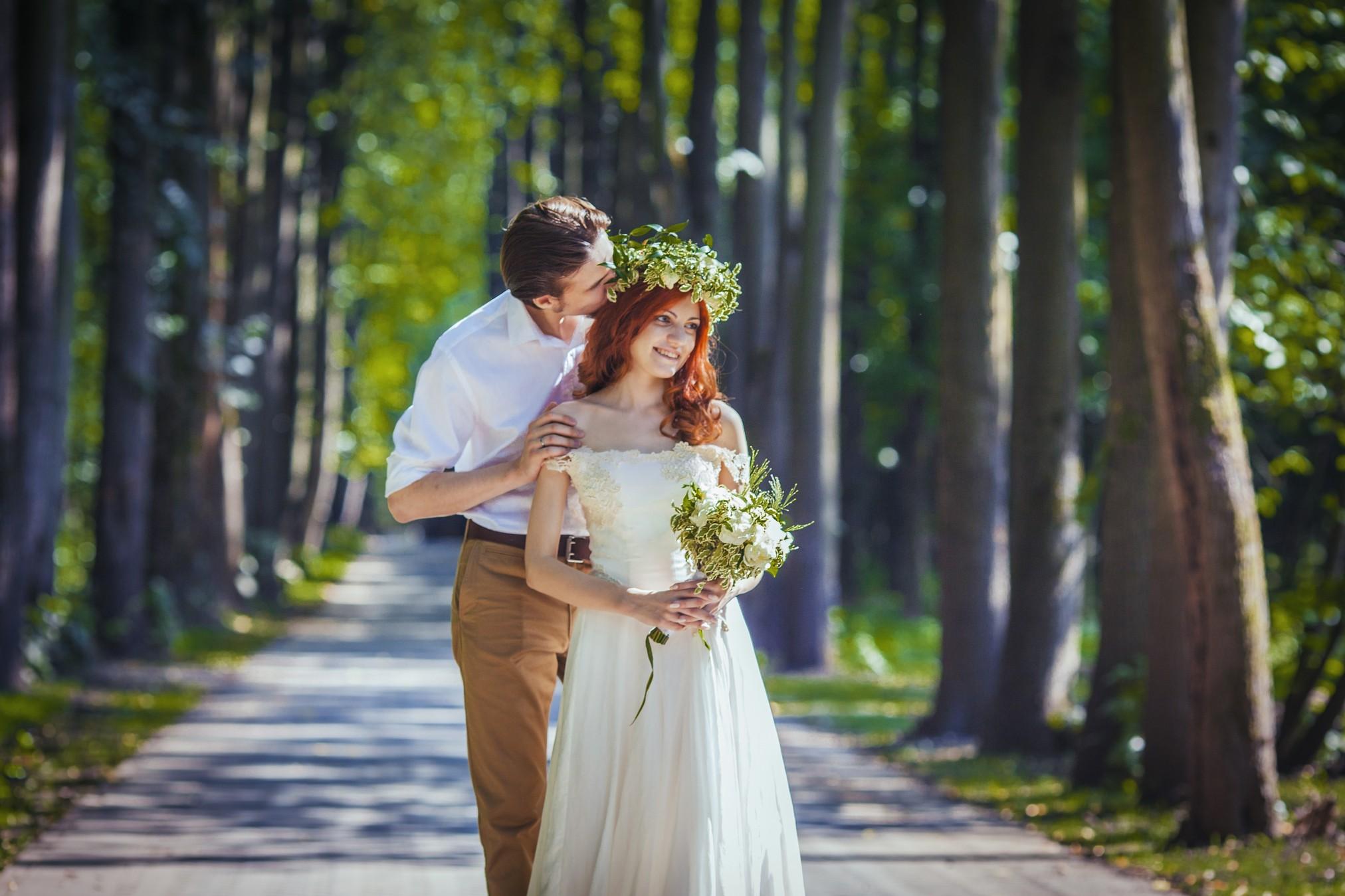Фото рыжая невеста 8 фотография