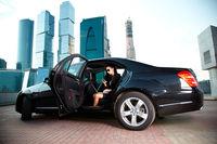 Такси-бизнес - свадебный кортеж