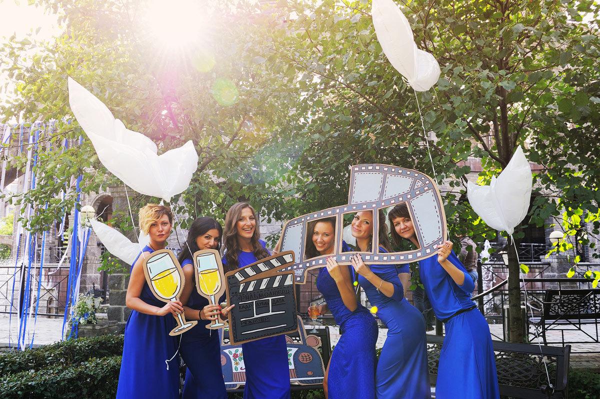 Фото девушек со свадьбы с дружкой 12 фотография