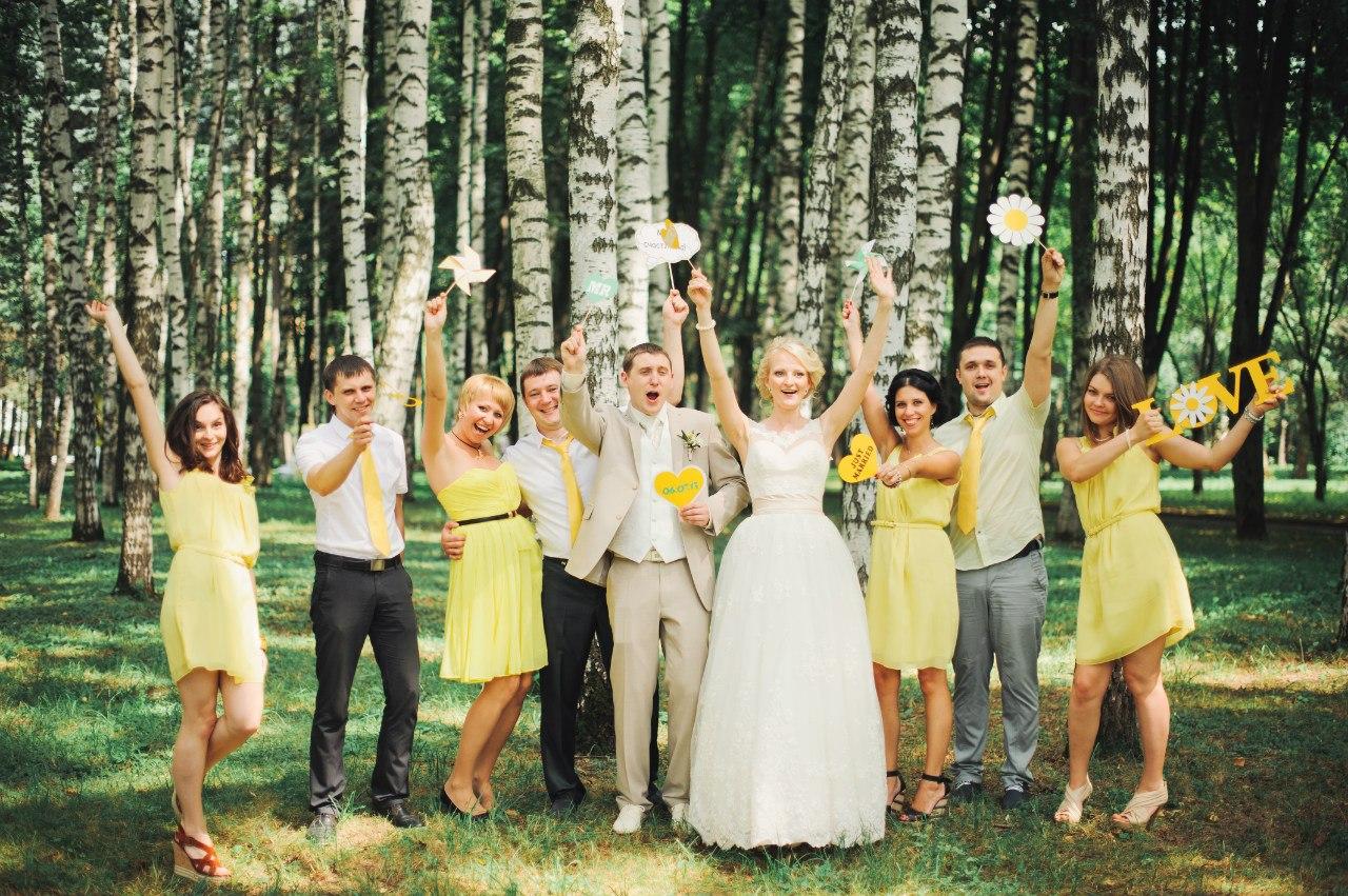 Свадьба в стиле ромашек фото