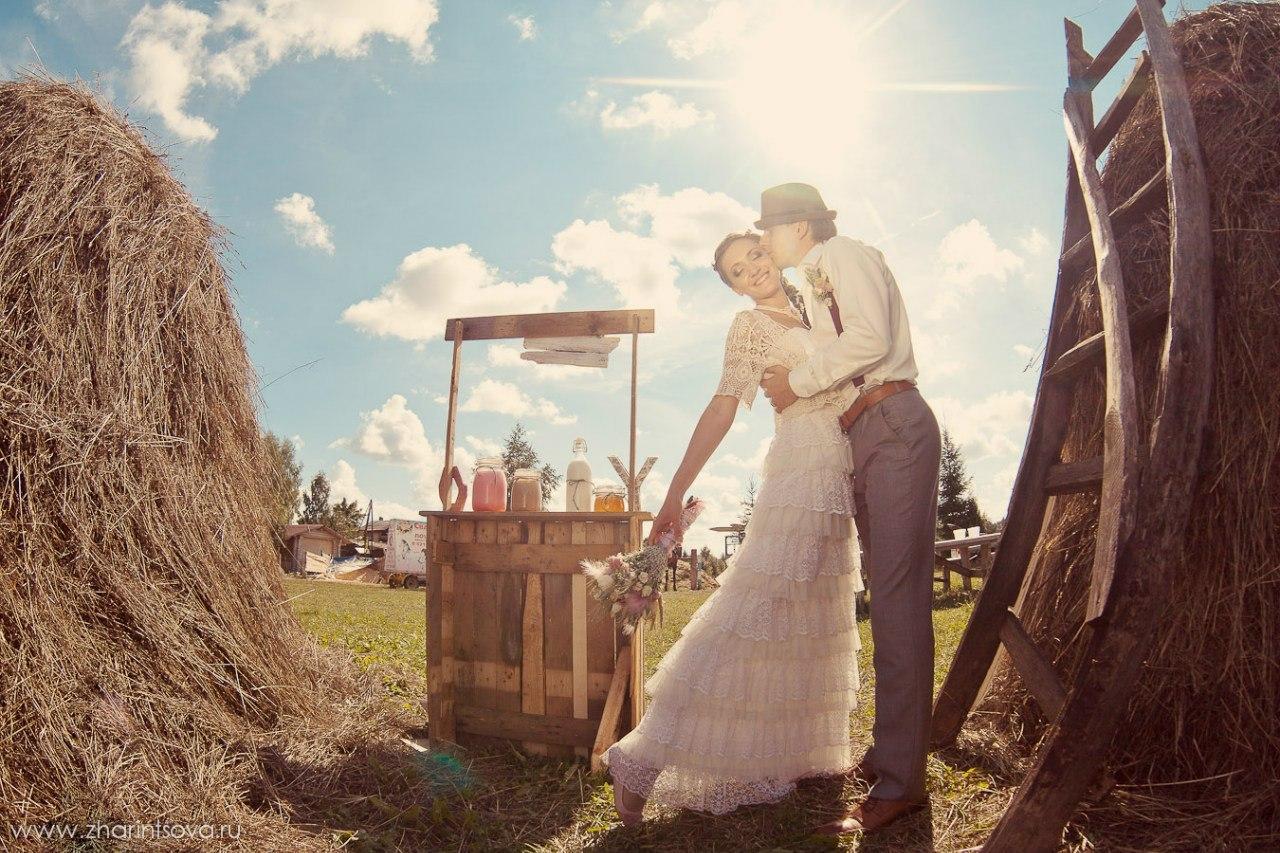 Фото невест в деревне, Свадьба без гламура и пафоса. Фото деревенской свадьбы 20 фотография