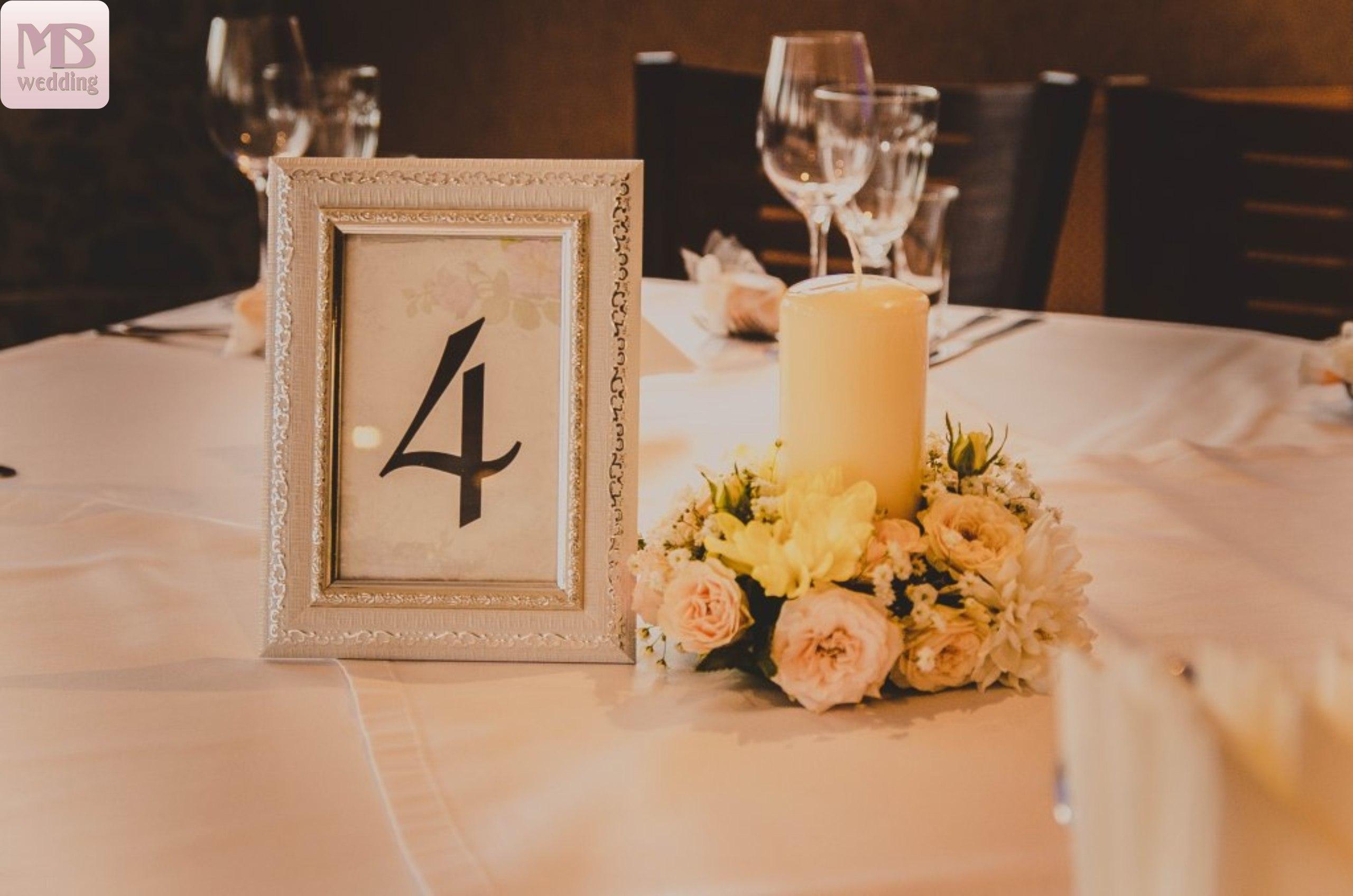 Номерки для столов своими руками Красивая Свадьба 29