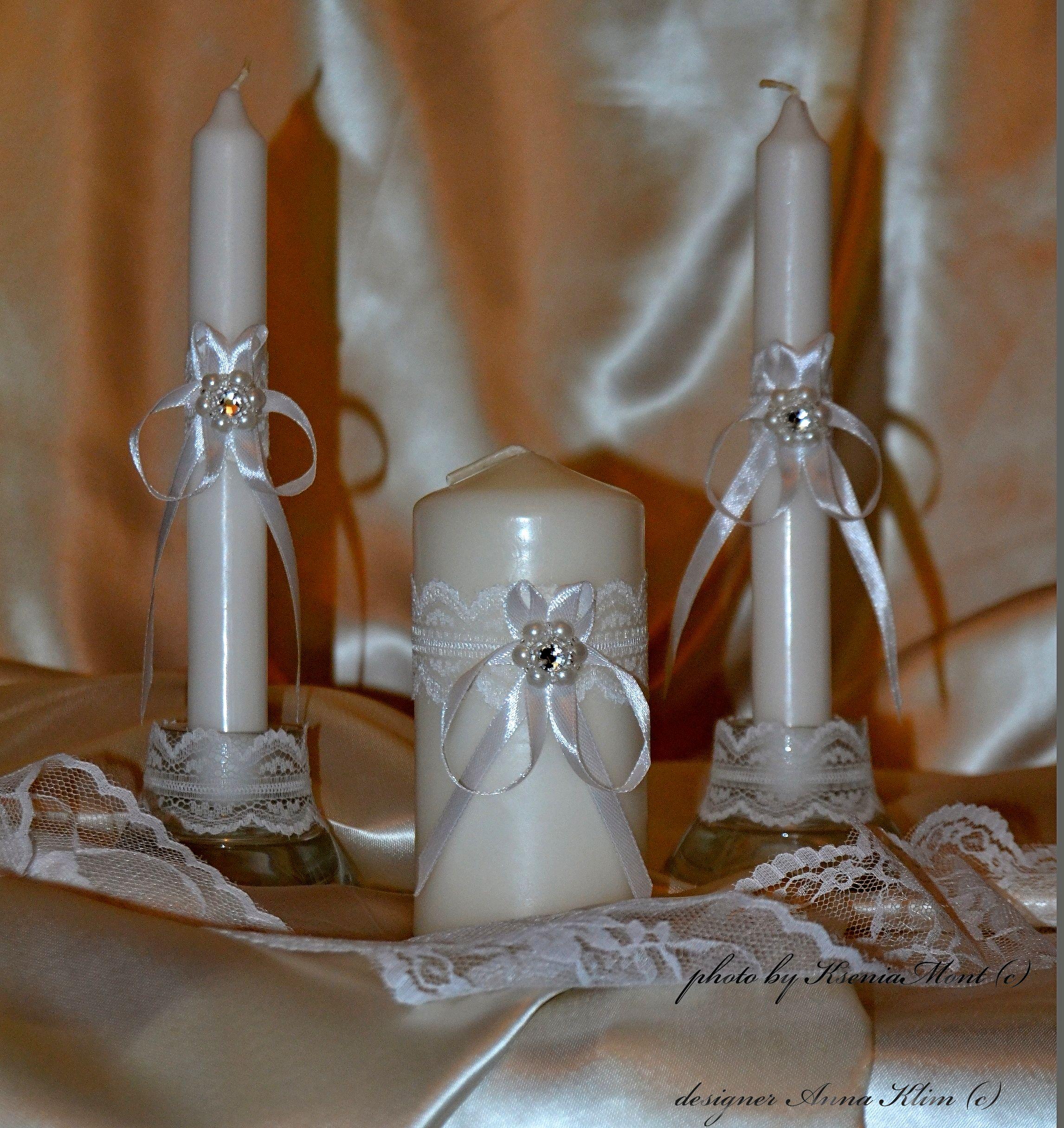 Оформление семейного очага на свадьбу своими руками