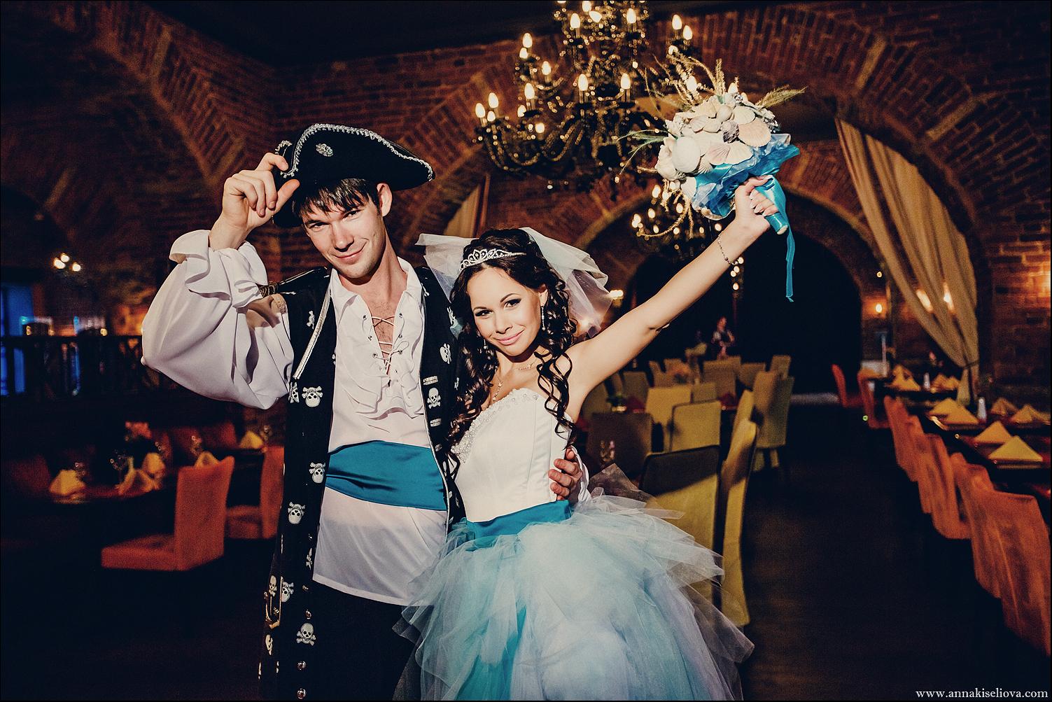 Моя свадьба в пиратском стиле фото