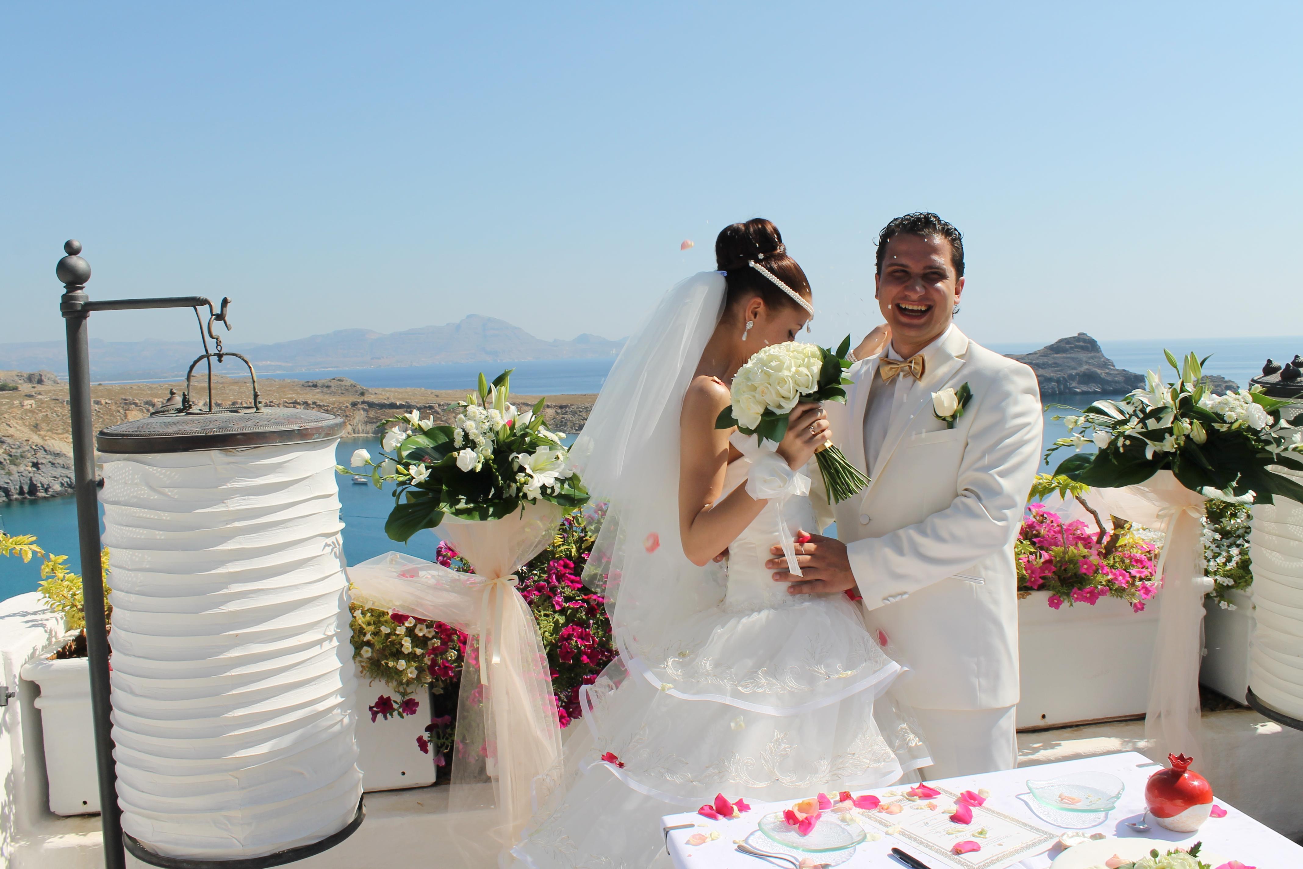 Свадьба в стиле греции фото