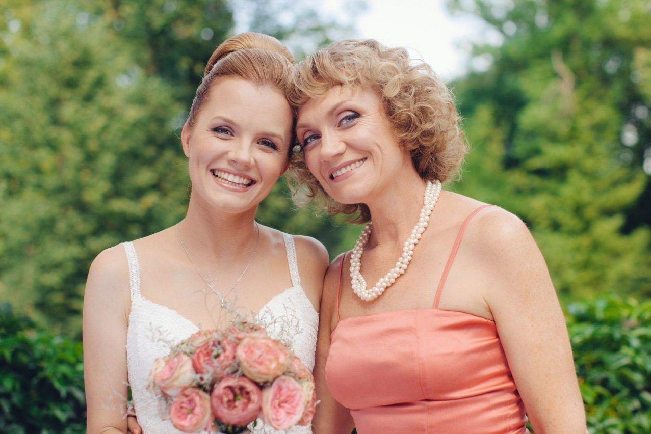 Фото мам на свадьбах