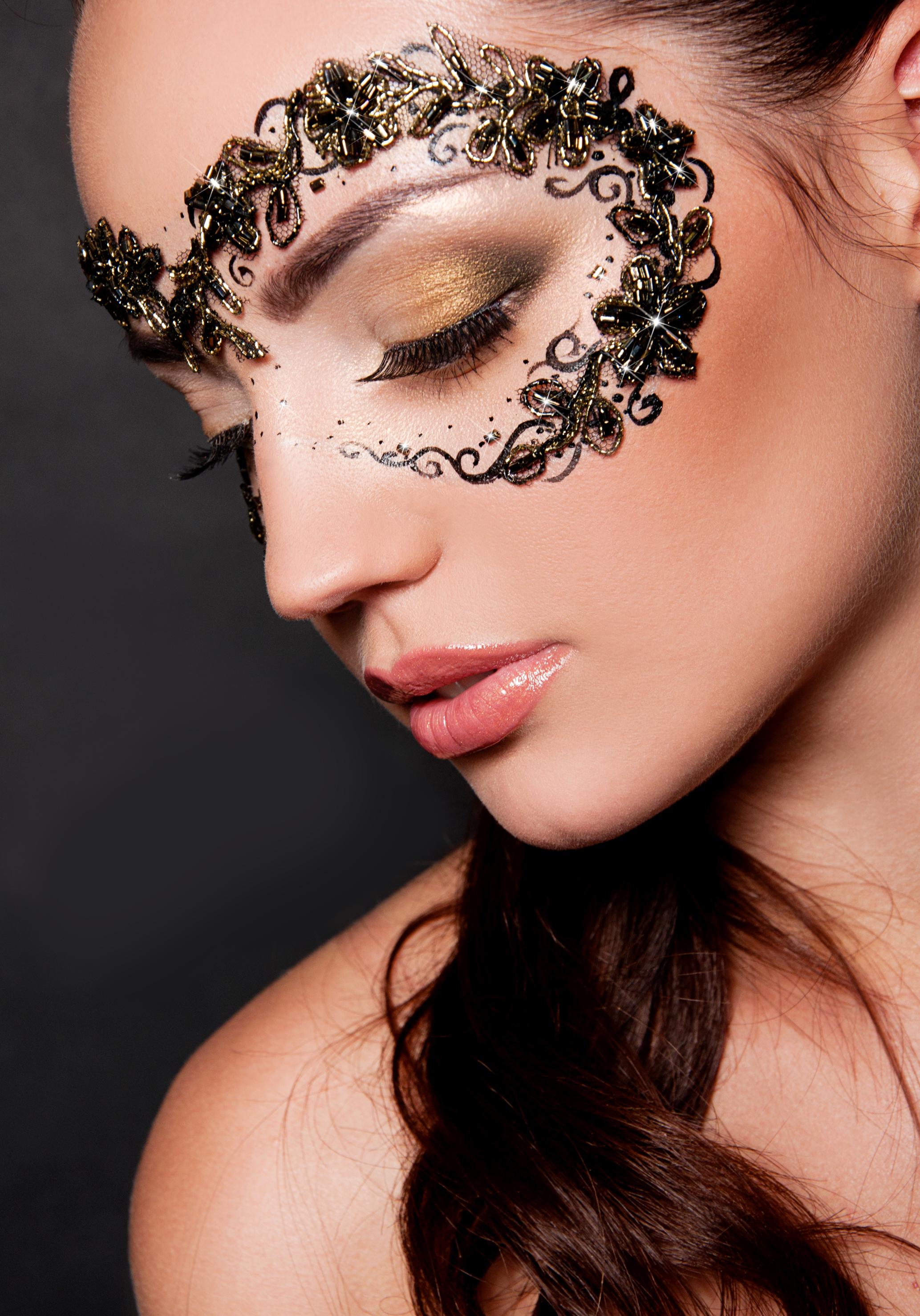 Стиль арт макияж фото