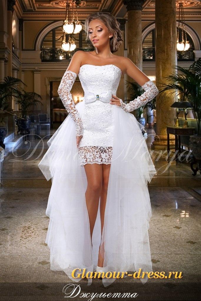 Свадебное платье трансформер недорого