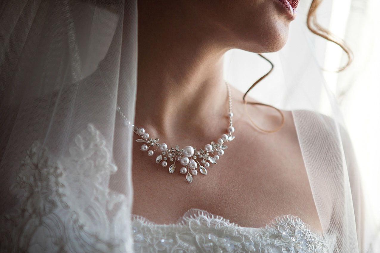 Бижутерия жемчуг для невесты на свадьбу фото