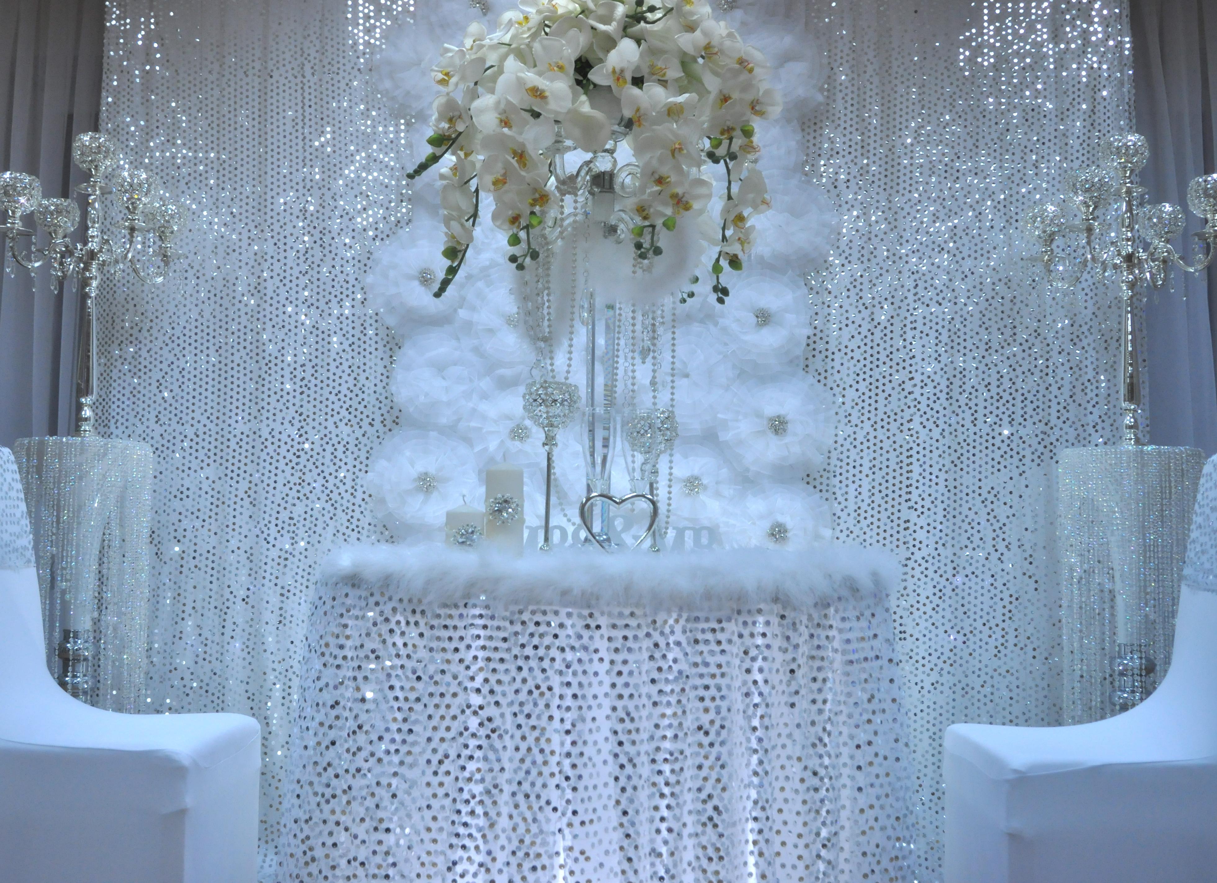 Украшение свадьбы зимой фото