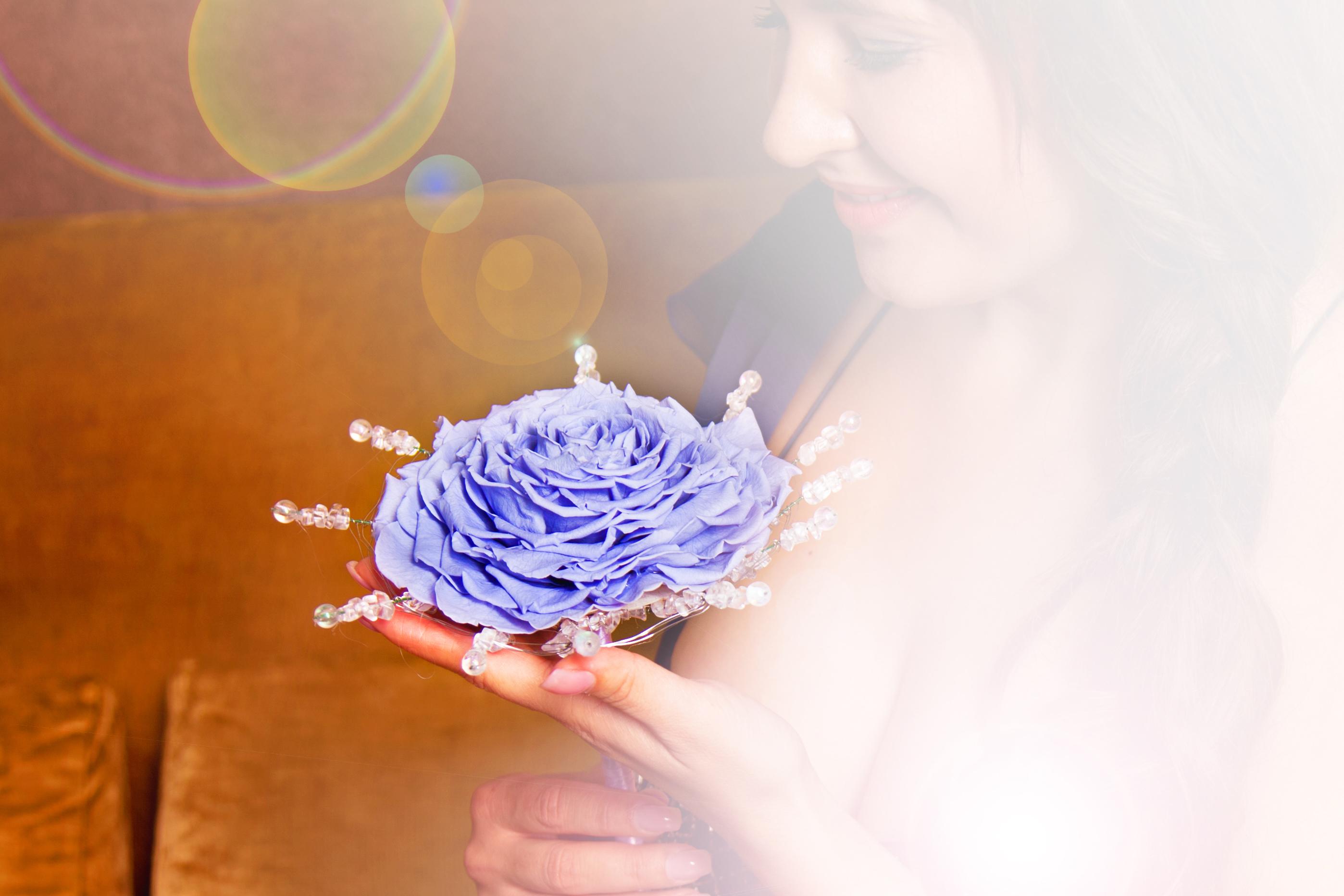 Гламелия из розы своими руками