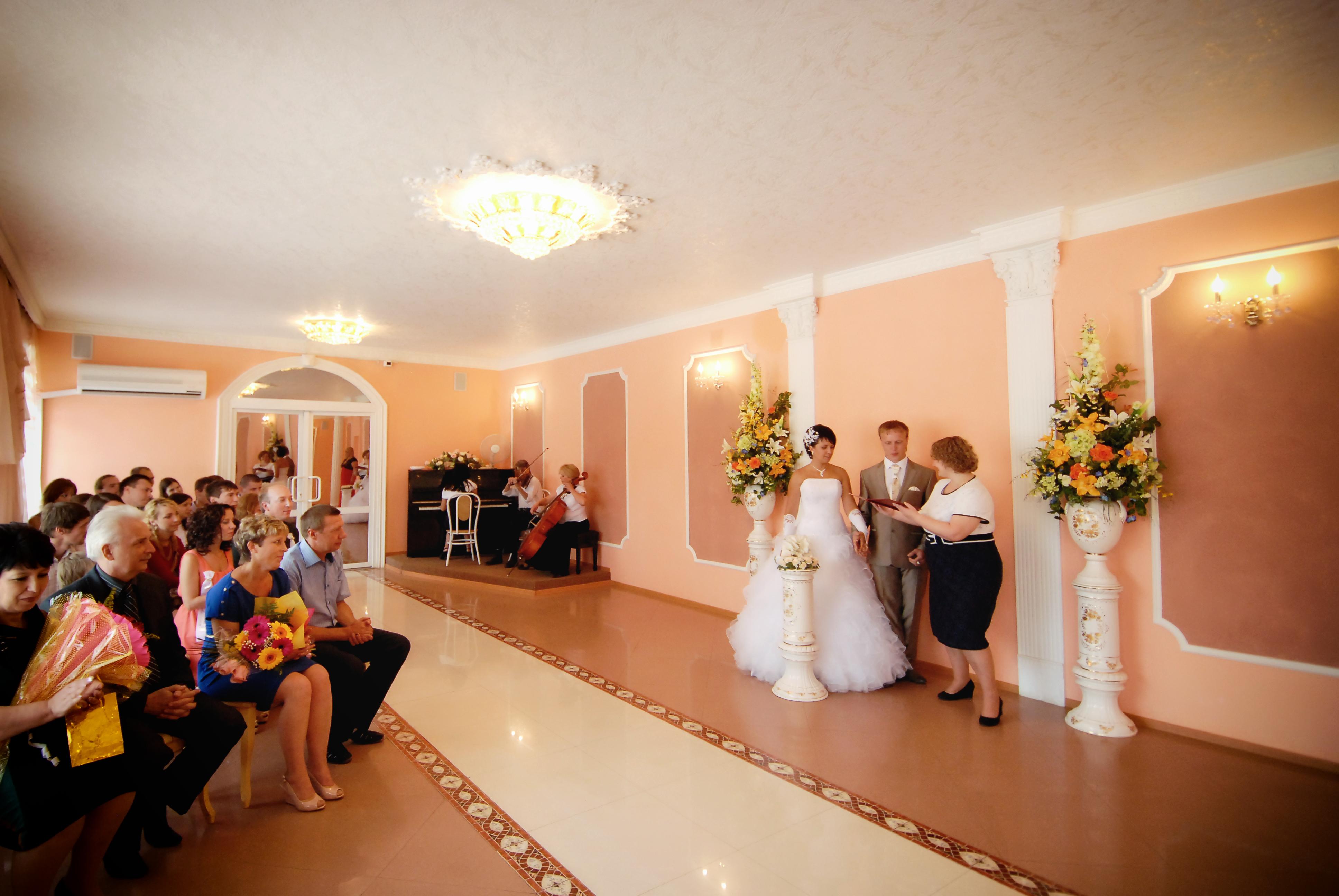 Фото свадеб в загсе мурома