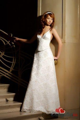 Свадебное плате из коллекции Tulipia 2008, модель Air. - фото 27 simik
