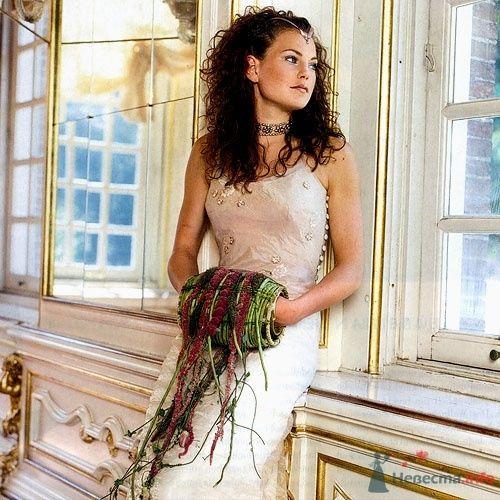 Необычный букет невесты в виде муфты. - фото 37 simik