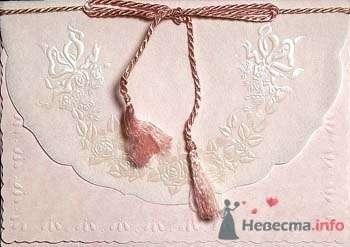 Розовый конверт для приглашений на свадьбу. - фото 54 Ночь'нушка