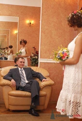 Кружевное свадебное платье в стиле рустик. - фото 109 Невеста01