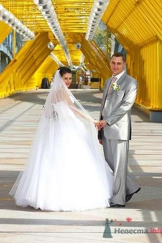 На мосту в Нескучном Саду - фото 568 Невеста01