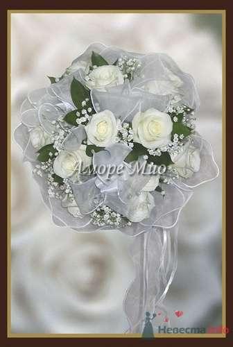 Букет невесты - фото 3100 Невеста01
