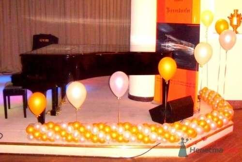 """Фото 16489 в коллекции Украшение шарами - Свадебное агентство """"Велес"""""""