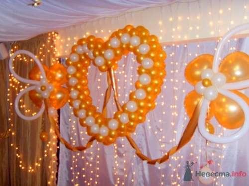 """Фото 16491 в коллекции Украшение шарами - Свадебное агентство """"Велес"""""""