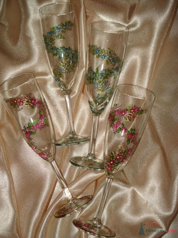 """Бокалы под шампанское - фото 69283 Свадебное агентство """"Велес"""""""