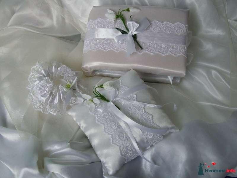 """Набор """"Подснежник""""  - фото 95231 """"Свадебный Бум"""" - свадебные принадлежности"""