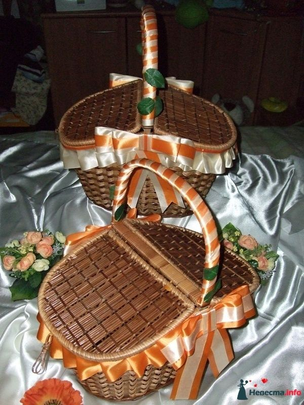 """Корзина для пикника - фото 122101 """"Свадебный Бум"""" - свадебные принадлежности"""