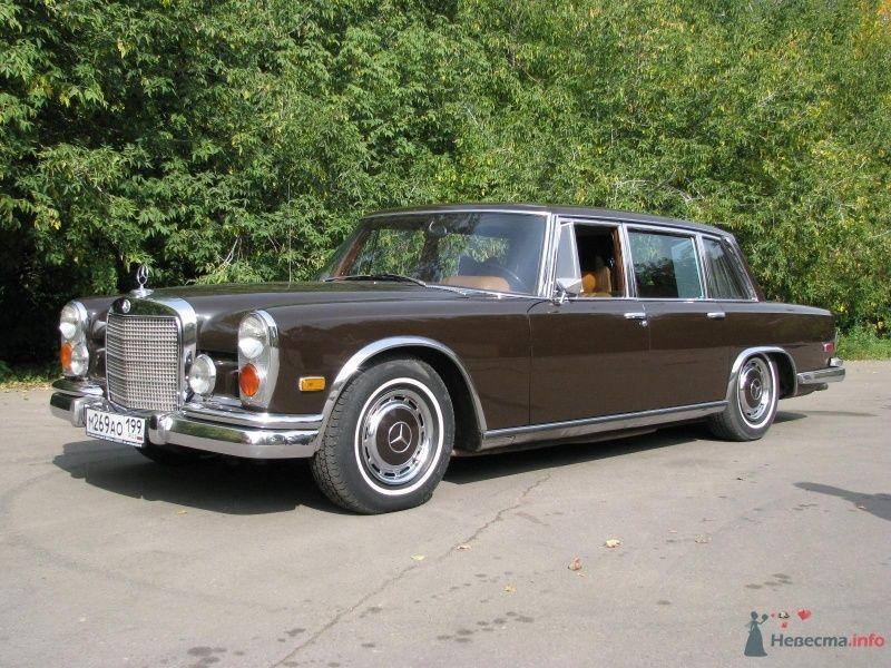 МЕРСЕДЕС-БЕНЦ S-600 W 100, 1972г.в. - фото 61868 Сlassic-cars -  парк ретро автомобилей