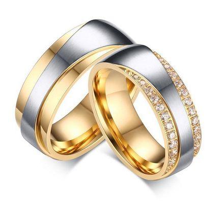Парные кольца для помолвки