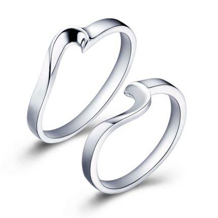 Кольца для двоих сердце
