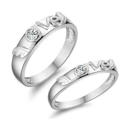 Кольца для пары Любовь