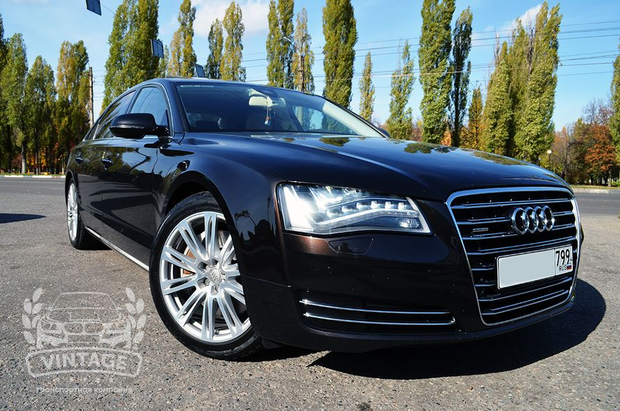 Audi A8  в аренду