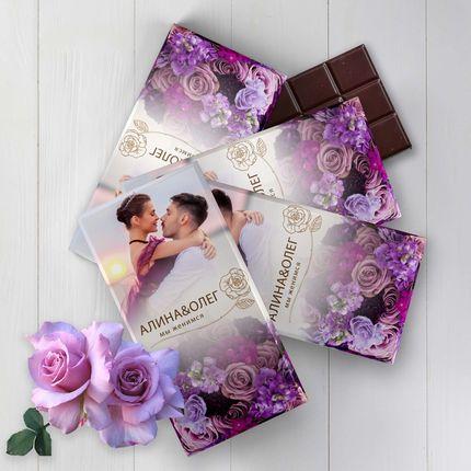 Шоколад  - дизайн бонбоньерки