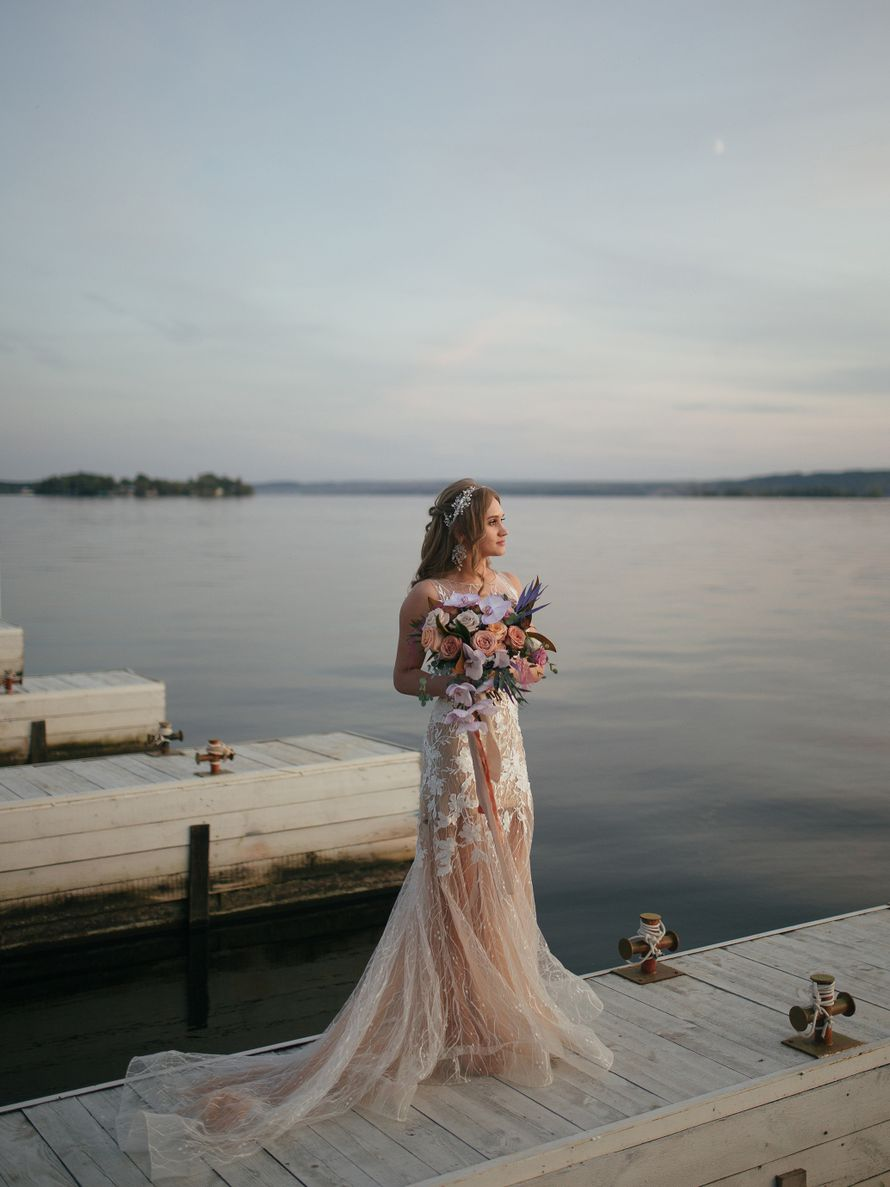 Фото 19582540 в коллекции Аделина и Зуфар #нагребнелюбви - Sofa wedding - студия свадеб