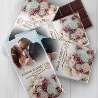 Приглашения или подарки гостям в виде шоколада