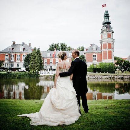 Организация свадьбы в датском замке - замок Хведхолм
