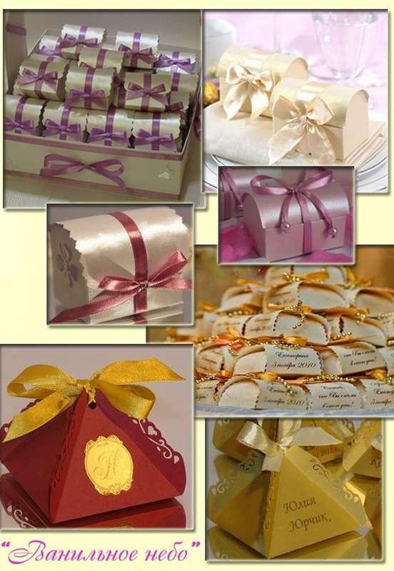 """Подарочные коробочки на свадьбу,день рожденья,девичник,для гостей,в которых может быть конфета,камушки,зернышка кофе,да и всё что угодно))) Вручаются гостям, во время Вашего торжества)))) - фото 862641 """"Ванильное небо"""" - свадебные аксессуары"""