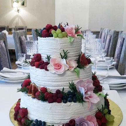 "Трехъярусный торт ""Венеция"", 1 кг"