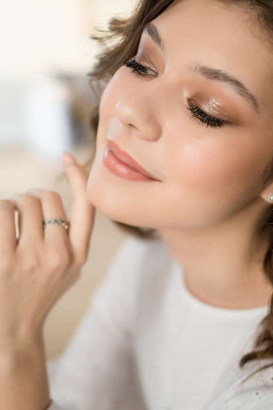 Фото 19744059 в коллекции Сияющий макияж - Визажист-стилист Ксения Родина