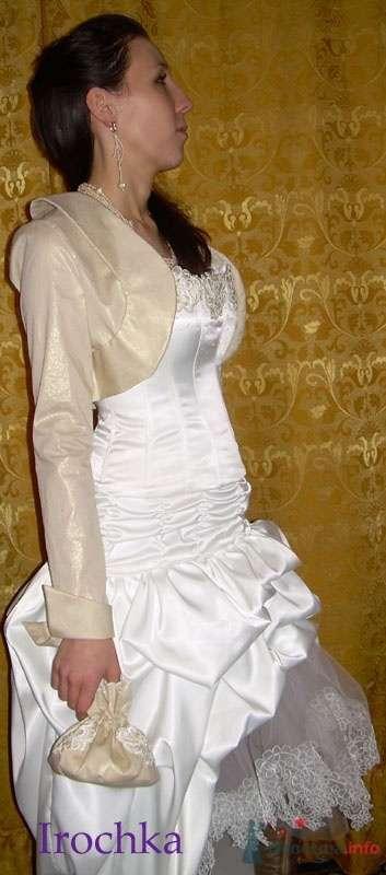 Комплект свадебный Зиля - фото 63130 Ателье свадебной и вечерней одежды Ирины Балявиной
