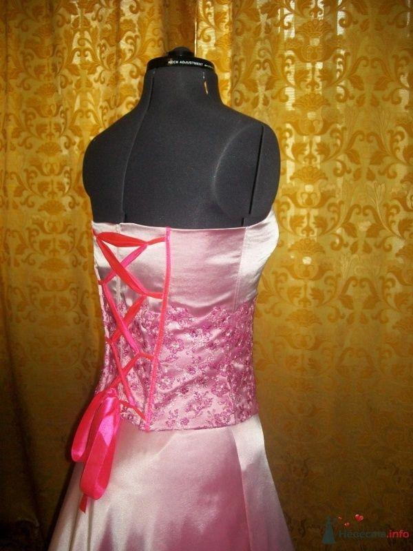 Комплект свадебный из розовой тафты - фото 63144 Ателье свадебной и вечерней одежды Ирины Балявиной