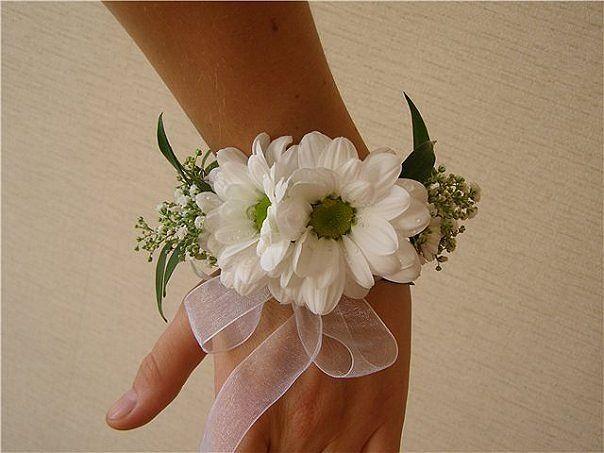 Букет для подружек невесты из хризантем, букете