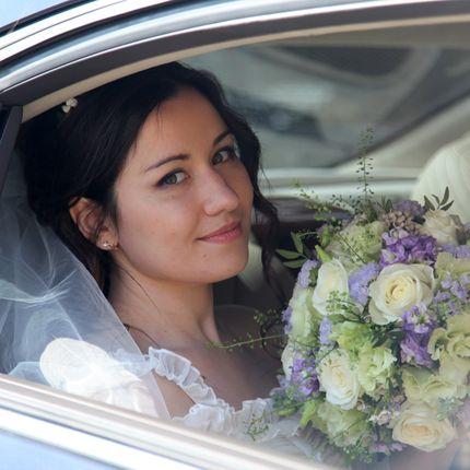 Нежный и ароматный букет невесты